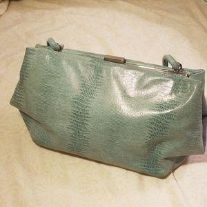 Leather Antonio Melani handbag.
